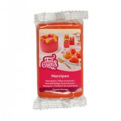Pâte d'amande orange - 250 g