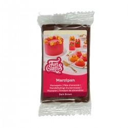 Pâte d'amande marron (goût chocolat) - 250 g