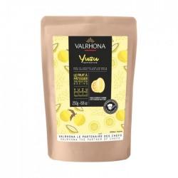 """Fèves """"Inspiration yuzu"""" de Valrhona 34,4% cacao - 250 g"""