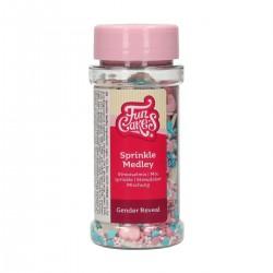 """Assortiment de sprinkles """"medley or"""" - 65g"""