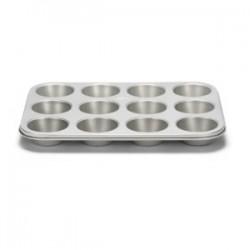 Moule à muffins antiadhésif avec 12 cavités - 35 cm