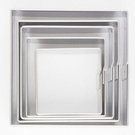 """Set de 5 emporte-pièces """"carrés"""""""