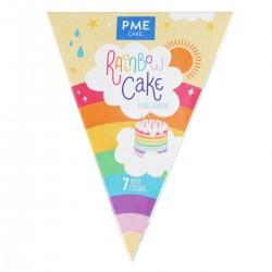 Kit de colorants alimentaires en gel pour gâteau arc-en-ciel