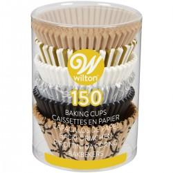 """150 caissettes à cupcakes en papier """"fête"""""""