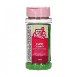 Sucre cristallisé vert
