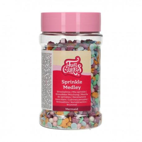 Sprinkles à pailettes Sirène
