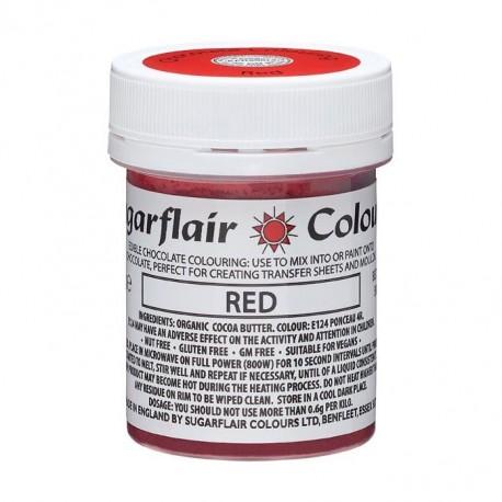 """Colorant alimentaire pour chocolat couleur """"rouge"""" - 35 g"""