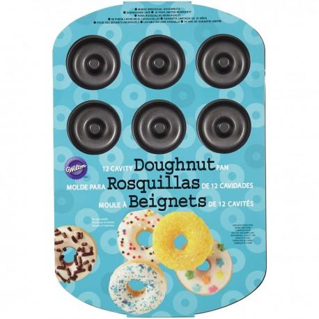 Moule pour 12 donuts de taille moyenne