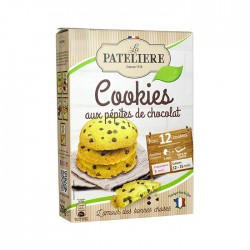 Préparation pour cookies chocolat noir BIO - 260 g