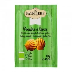 Poudre à lever sans phosphate sans gluten 8 x 10 g