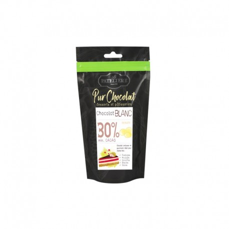 Palets de chocolat blanc bio - 200 g