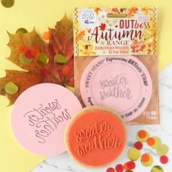 """Outboss™ pour pâte à sucre """"Sweater weather"""" - Sweet Stamp"""