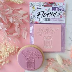 """Outboss™ pour pâte à sucre """"Cage à oiseau"""" - Sweet Stamp"""