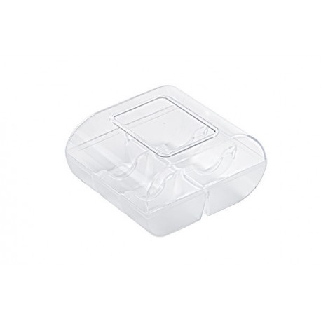Boîte à macarons transparente - 6 macarons