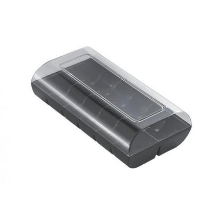 Boîte à macarons noire - 12 macarons