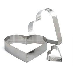 Cœur en acier inoxydable pour entremets - Différentes tailles