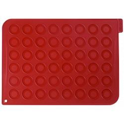 Tapis en silicone avec 48 cercles imprimés - 40 x 30 cm