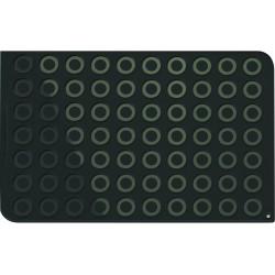 Tapis en silicone avec 70 cercles imprimés - 60 x 40 cm