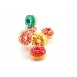 """Moule en silicone """"mini-donut"""" - 15 cavités"""