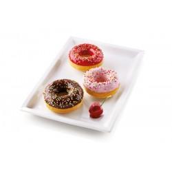 """Moule en silicone """"donut"""" - 6 cavités"""