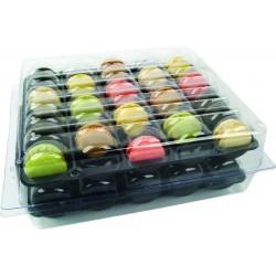 Boîte thermoformée pour 70 macarons