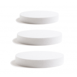 Base ronde en polystyrène - Plusieurs dimensions