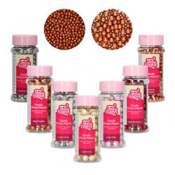Perles en chocolat Candy Choco - Différentes couleurs et tailles
