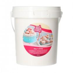 Glaçage Dip'n Drip blanc - 1 kg