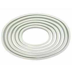 Set de 6 emporte-pièces ovales