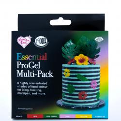 Coffret 6 colorants alimentaires ProGel