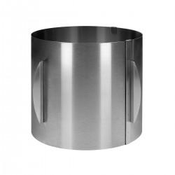 Cercle à pâtisserie ajustable - 20 cm de haut