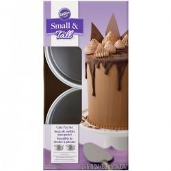 Set de 2 moules pour layer cake rond