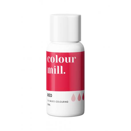 Colorant alimentaire en gel Colour Mill - Rouge