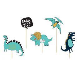 "Toppers pour gâteau ""Dinosaures"""