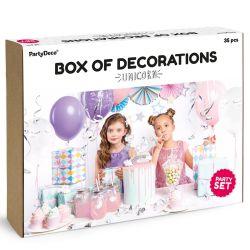 """Kit de décos d'anniversaire """"Licorne"""""""