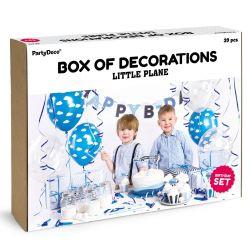 """Kit de décos d'anniversaire """"Petit n'avion"""""""