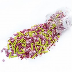 Assortiment de sprinkles - Very Strawberry