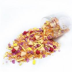 Assortiment de sprinkles - Tutti Frutti
