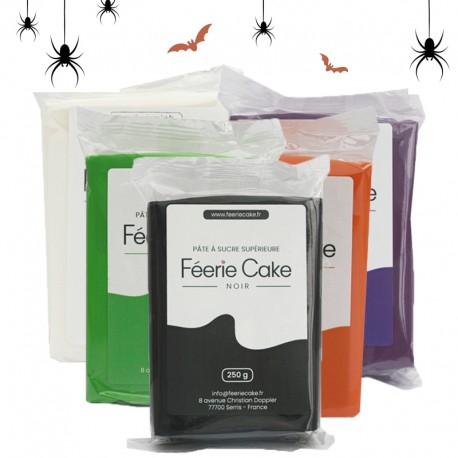 Pack de 5 pâtes à sucre Halloween