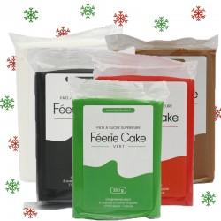 Pack de 5 pâtes à sucre Noël