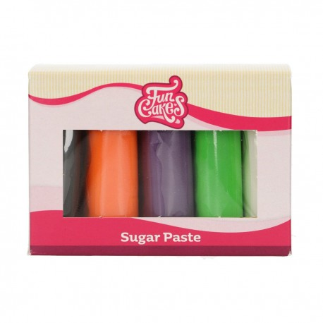 Pack de 5 pâtes à sucre - Halloween