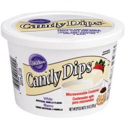Candy Dip - Pistoles prêtes-à-fondre blanc