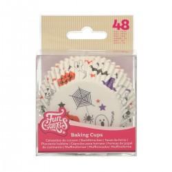 "48 caissettes à cupcakes standard ""Halloween"""