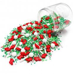 Assortiment de sprinkles - Chaussettes de Noël