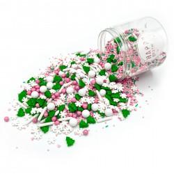 Assortiment de sprinkles - Pink Wonderland