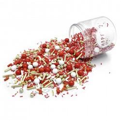 Assortiment de sprinkles - Joyeux Noël