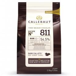 Chocolat noir de couverture Callebaut - 2,5 kg
