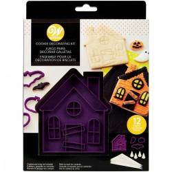 Kit decoration biscuits Maison hantée