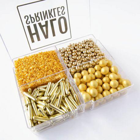 Assortiment de sprinkles - Pick'n'Mix Golds box 240 g