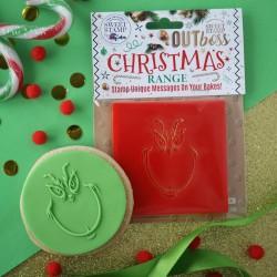 Outboss™ Sweet Stamp - Tête de Grinch